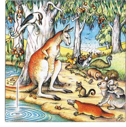 Как у кенгуру появилась на животе сумка читать онлайн