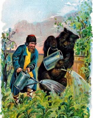 Мужик и медведь читать онлайн