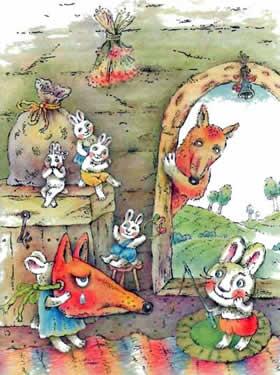 Сказка про маленьких крольчат читать онлайн