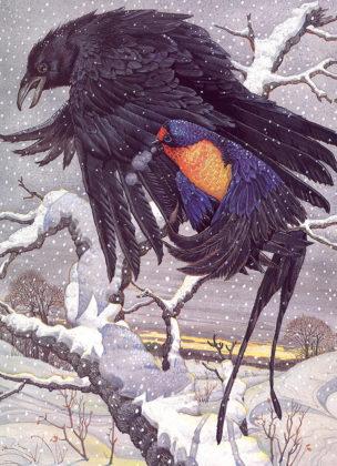 Ласточка и ворона читать онлайн