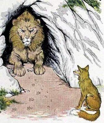 Лев и лисица читать онлайн