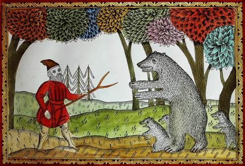 Сказка о медведихе читать онлайн
